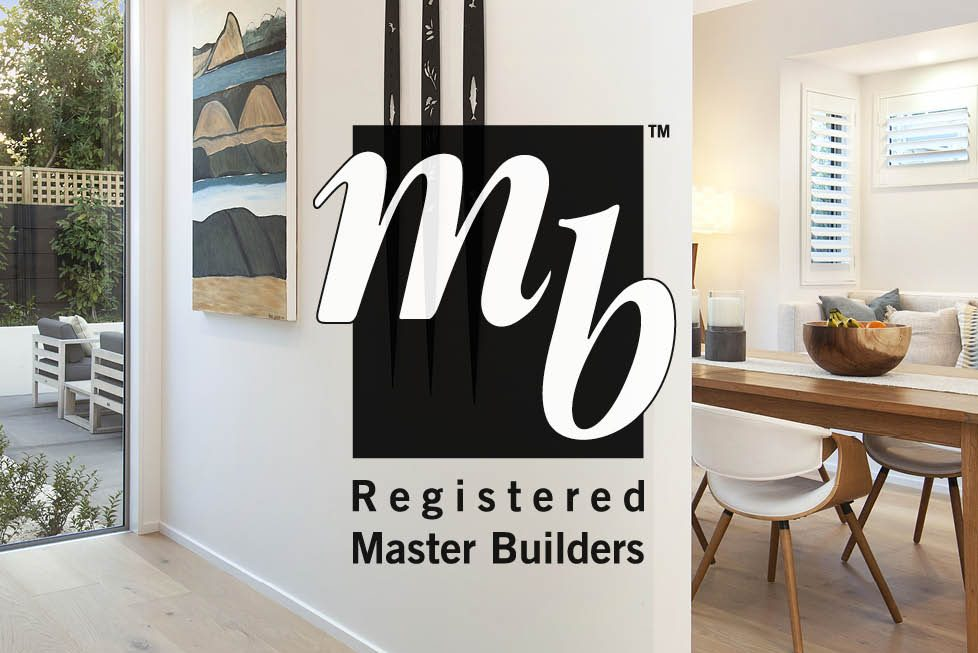Zayne Kerr Builders are Registered Master Builders